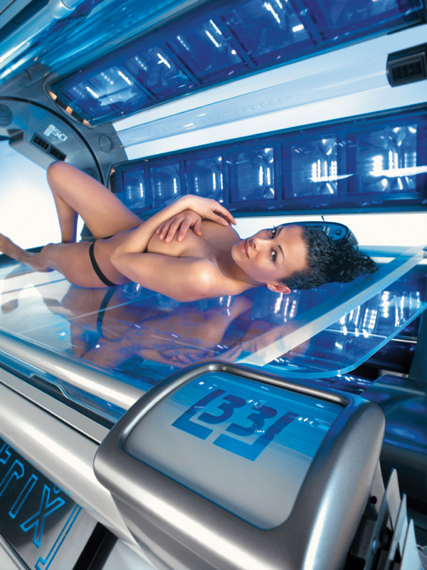 how to tan evenly in a tanning bed